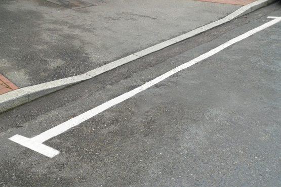 bce surfacing – white lining